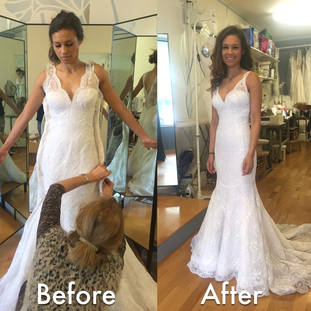Seamstress Wedding Dress - home decor - Mrsilva.us