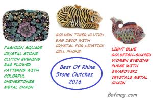 Rhine Stone Clutches 2016